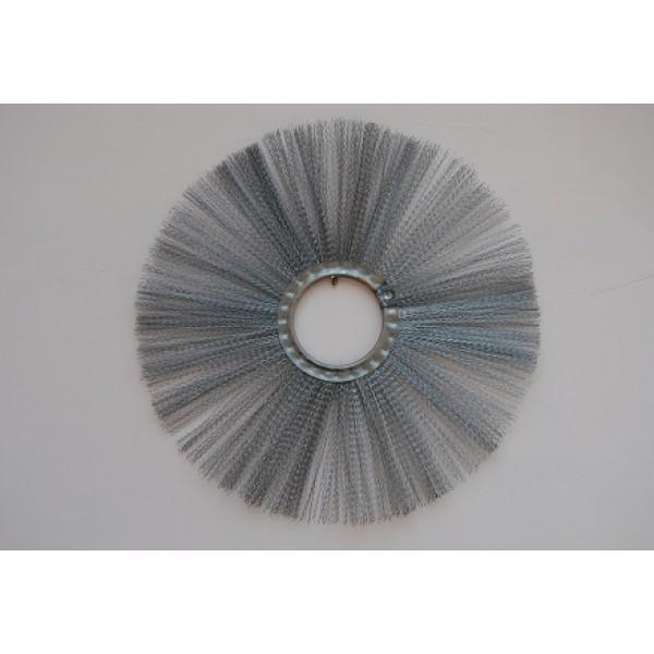 Щётка дисковая 120х550 металлическая