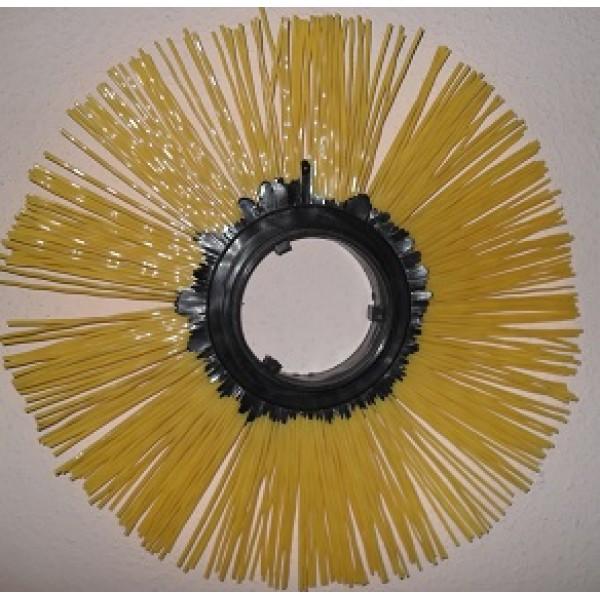 Щётка дисковая 101х400 полипропиленовая беспроставочная